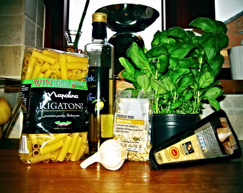 items for pesto by martushka