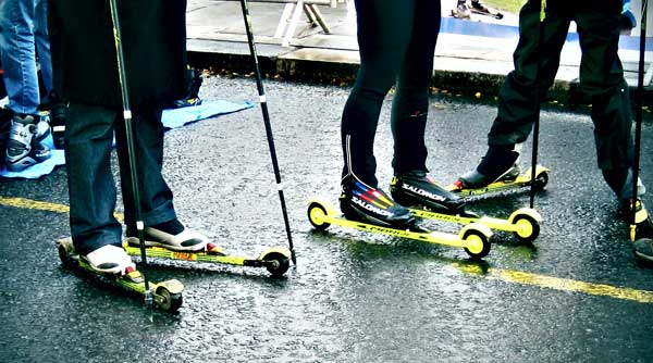 roller skis by martushka