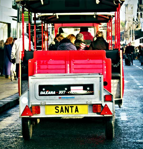 Santa train by martushka