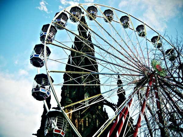 Princes Street wheel by martushka