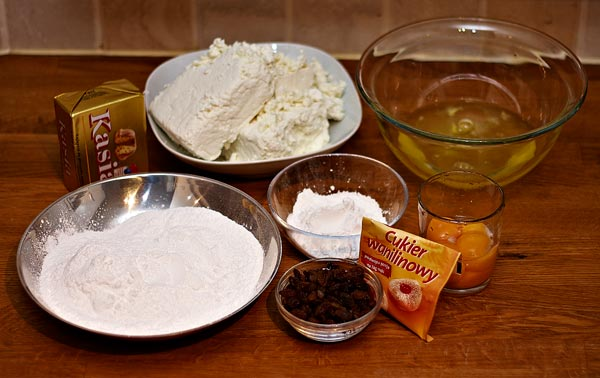items for baking a cheesecake by quall
