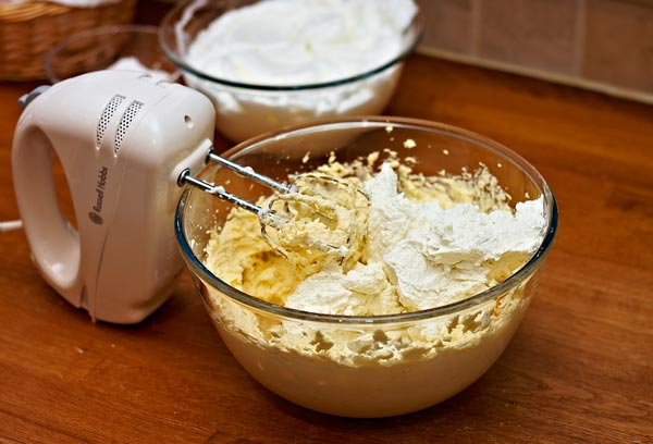 add cottage cheese by quall