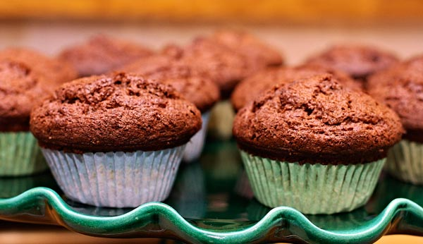 chocolate muffin by quall